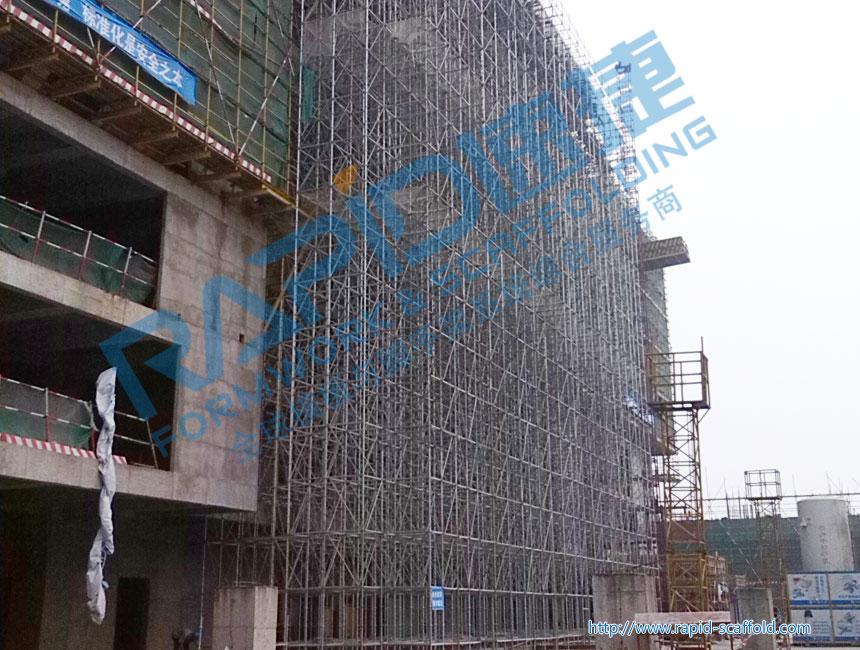 公共建筑模板支撑工程